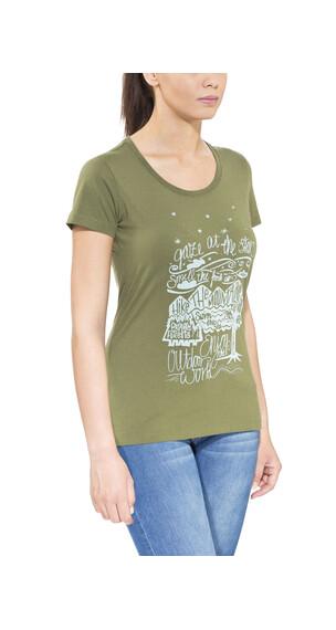 Maloja BeverlyM. t-shirt Dames groen
